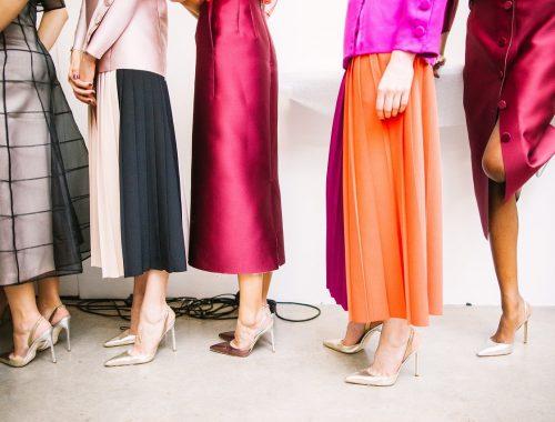 Etre tendance avec une longue robe.